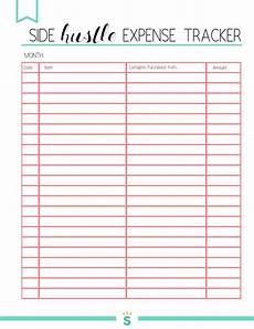 Expenditure Tracker Free Printable Small Business Planner 2020 Small