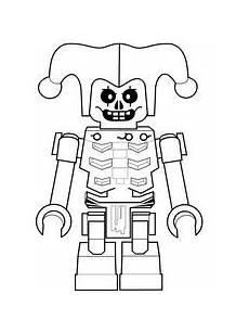 Lego Ninjago Skelett Ausmalbilder Malvorlagen Ninjago Morning