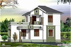 1st Floor Home Design Small Double Floor Home Design In 1200 Sq Feet Kerala
