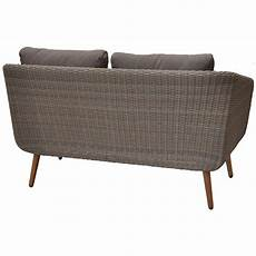 Wicker Sofa Outdoor Set Png Image by Vermont Outdoor Wicker Timber 2 Seat Lounge