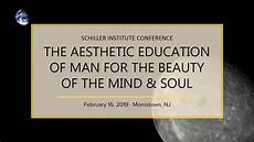 the aesthetic education of for the of the mind