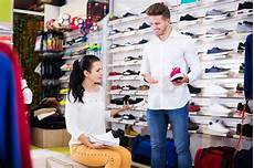 Retail Store Assistant Shop Assistant Helping Customer Stock Photo Image