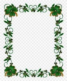Green Border Design Download Green Floral Border Png Photo Green Leaves