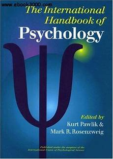 The International Handbook Of Psychology Free Ebooks