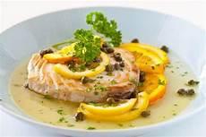 Light Lemon Sauce For Fish Fish With Citrus Caper Sauce Steamy Kitchen Recipes