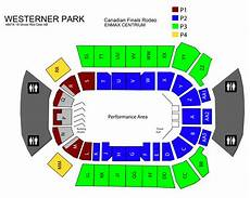 Cfr Red Deer Seating Chart Seating Chart Canadian Finals Rodeo
