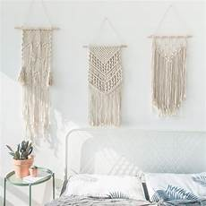 macrame wall hanging nordic macrame cotton tapestry large