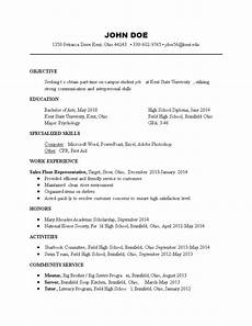 Resume For Part Time Job Student Part Time Student Job Resume Format Templates At