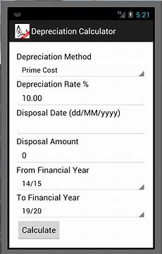 Depreciation Calculator Depreciation Calculator Basic Android Apps On Google Play