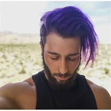 Arctic Fox Purple Rain On Light Brown Hair Purple Rain In 2019 Light Purple Hair Men Hair Color