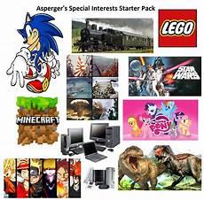 Special Interest Examples Asperger S Special Interests Starter Pack Starterpacks