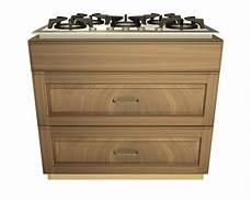 2 drawer 1 false front cooktop base cabinet