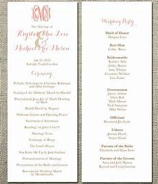 17 best images about wedding programs and menus on