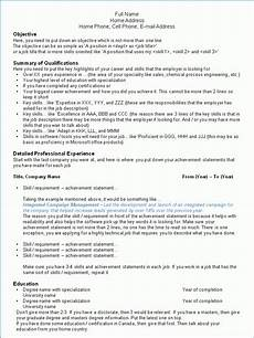 How Can I Make A Free Resume Making Your Resume Success In Canada