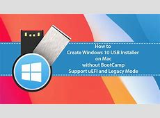 How to Create Windows 10 Bootable USB on Mac without