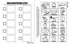 Making A Grocery List Worksheet 16 Best Images Of Making A Shopping List Worksheet