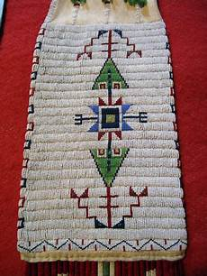 beadwork sioux late 1800s 1900 sioux beaded pipebag frontier plunder