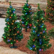 Tree Lights On Sale Walkway And Tabletop Trees 3 Walkway Pre Lit Winchester