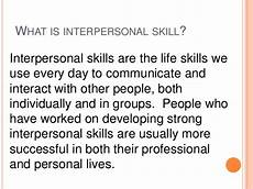 Strong Interpersonal Skills Definition Interpersonal Skills Need And Importance