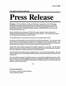 Press Release Example For Event The Power Of A Press Release Pruth Magazine