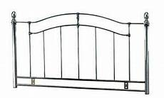 4ft6 5ft king metal headboard for bed in black