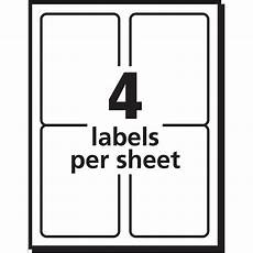 Avery Label Template 5066 Avery Shipping Labels For Inkjet Printers 3 5 X 5 Inches