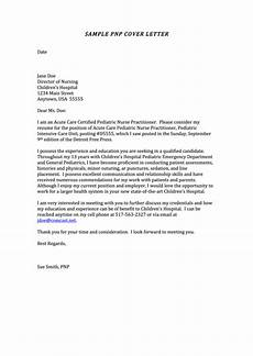 Pediatric Nurse Cover Letters Sample Pediatric Nurse Practitioner Cover Letter Printable