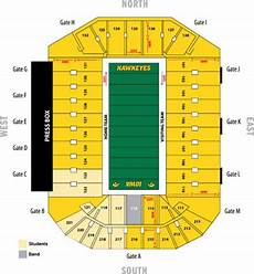 Iowa Basketball Seating Chart Kinnick Stadium Seating Chart Iowa Hawkeyes Football