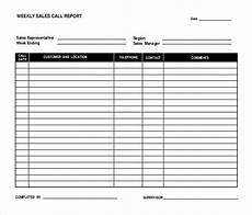 Sales Call List Template 16 Sales Report Templates Docs Pages Pdf Word Free