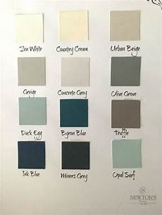 Wall Paint Chart Colour For Home Wall Paint Colour Chart Newton S Chalk