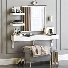 3d model ikea alex dressing table with strandmon ottoman