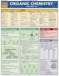 Quick Study Charts Pdf Aper 231 U Du Fichier Organic Chemistry Quickstudy