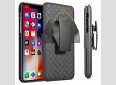 Patterned Series iPhone 11 Pro Max Case with Belt Clip   Black