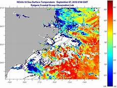 Sst Charts Rutgers Cape Hatteras Sea Surface Temperatures Monday September 7