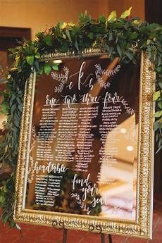 Cricut Wedding Seating Chart 18 Brilliant Vintage Mirror Wedding Sign Ideas For 2018
