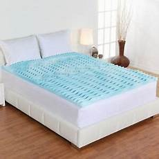 bed topper gel pad size orthopedic foam mattress firm
