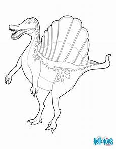 spinosaurus coloring pages hellokids