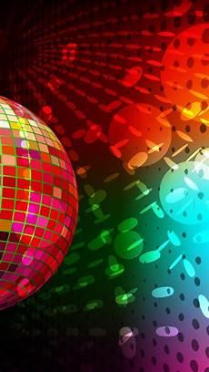 Iphone Disco Light Disco Circles Colors Lights Music Wallpaper 94654