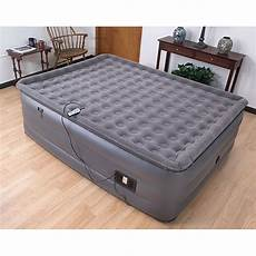 air cloud raised pillowtop king size air bed free