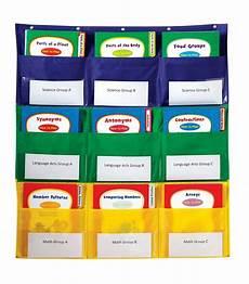Web Organizer Pocket Chart Center Storage Pocket Chart