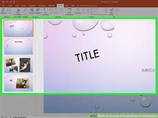 Making Powerpoint How To Create A Powerpoint Presentation With Sample