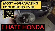 2012 Honda Accord Light Removal How To Change Fog Light Housing 2008 2012 Honda Accord