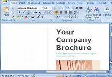 Brochure Maker Microsoft Free Brochure Maker Template For Ms Word