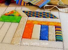 fabric crafts quilting simples feliz faux quilting