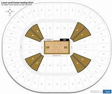 Ramkat Winston Salem Seating Chart Joel Coliseum Wake Forest Seating Guide Rateyourseats Com