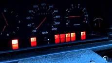 Volvo Position Light Warning Volvo 740 All Warning Lights Youtube