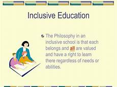 Education Ppt Presentation Ppt Inclusive Education Powerpoint Presentation Id 3330738