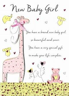Congratulations Sayings For New Baby New Baby Girl Congratulations Greeting Card Cards Love