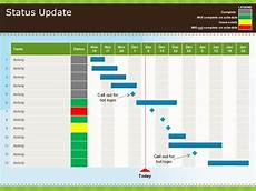 Powerpoint Update Template 017 Powerpoint Tastic Template Status Update