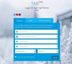 Free Sign In Template 20 Html5 Signup Amp Registration Forms Html Css Free